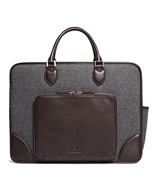 Wool Tablet Briefcase