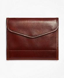 J.W. Hulme Leather iPad Stand and Notebook Case