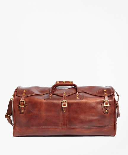 J.W. Hulme Leather Medium Duffel Bag
