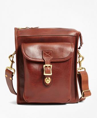 J.W. Hulme Leather Correspondent Bag