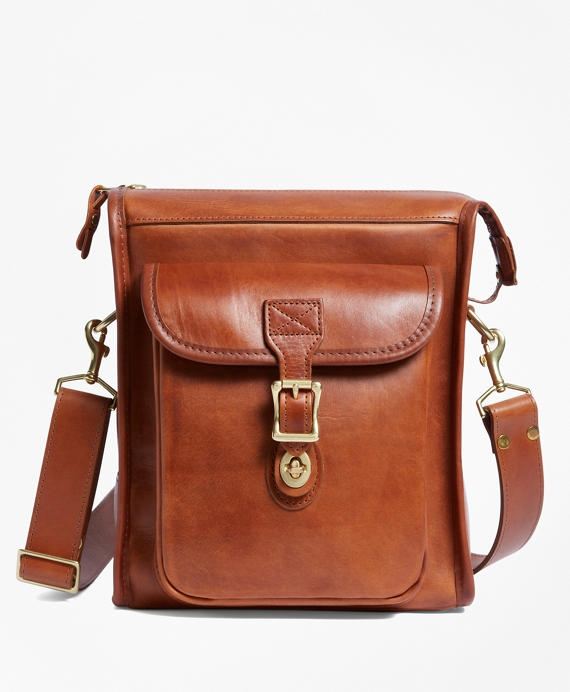 J.W. Hulme Leather Correspondent Bag