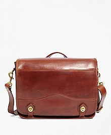 J.W. Hulme Leather Envoy Messenger Bag