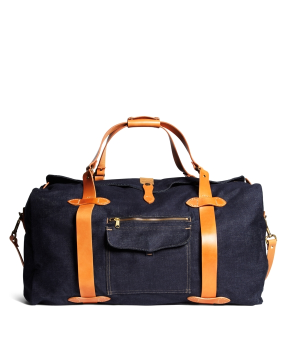 Filson® Denim Duffle Bag Navy