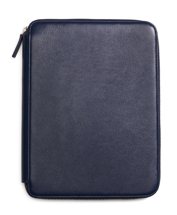 Deerskin Document Case Navy