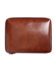Burnished Leather Document Case