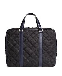 Quilted Briefcase