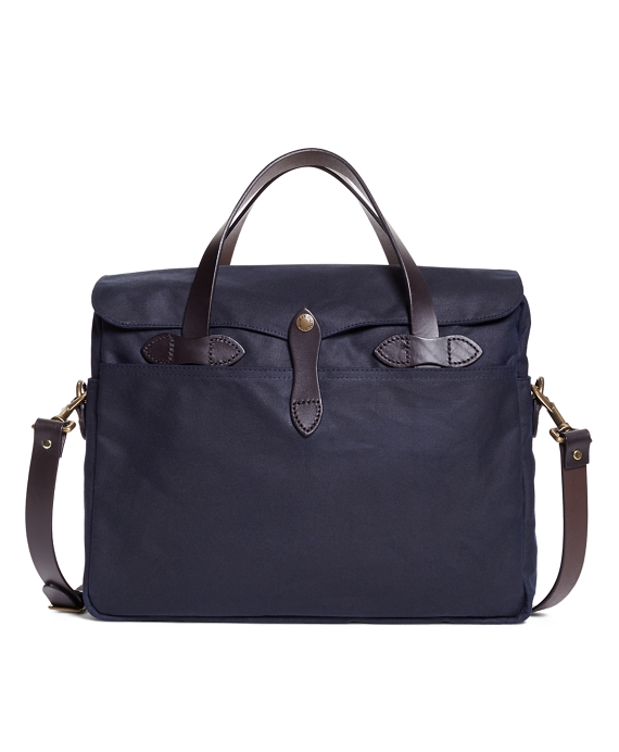 Exclusive for Brooks Brothers Filson® Tin Cloth Briefcase Navy
