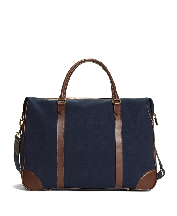 Canvas Duffle Bag Navy