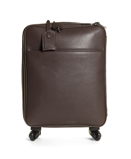 Brooks Brothers Pebble Leather Trolley