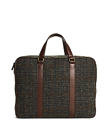 Harris Tweed Briefcase