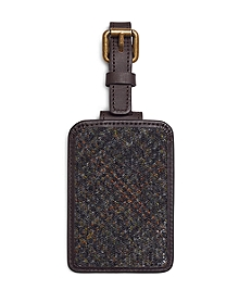 Harris Tweed Luggage Tag