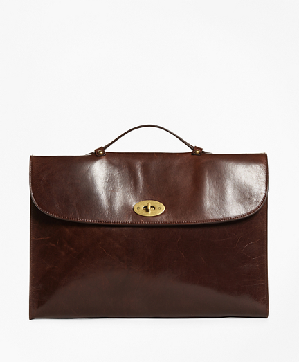 Men S Luggage And Briefcases Brooks Brothers