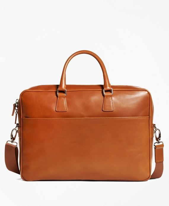 Vegetable Tan Leather Briefcase