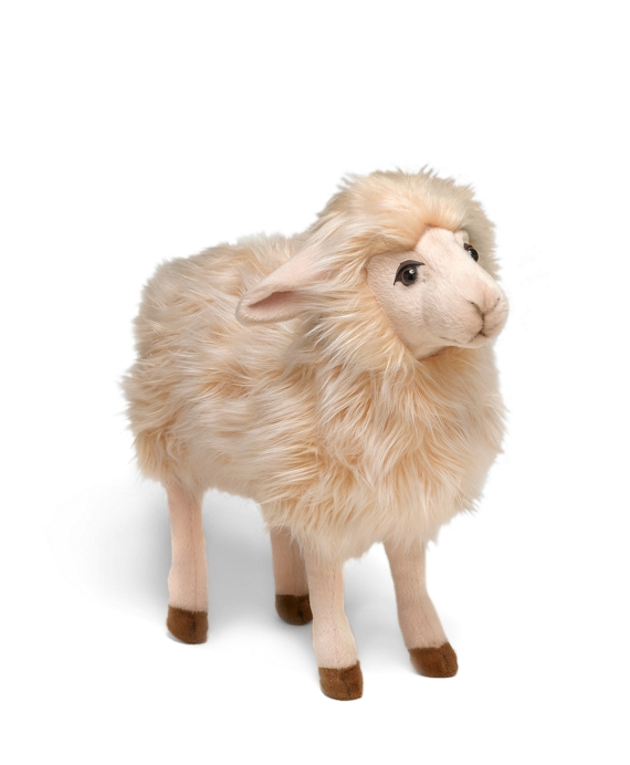 HANSA Stuffed Sheep White