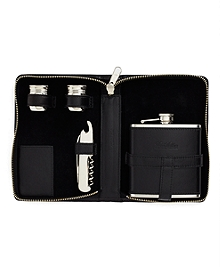 Traveling Flask Set