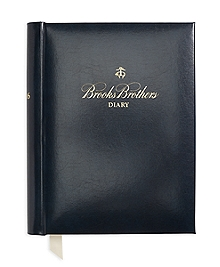 Brooks Brothers 2016 Desk Diary