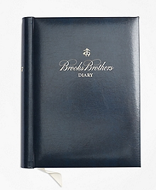 Brooks Brothers 2017 Desk Diary