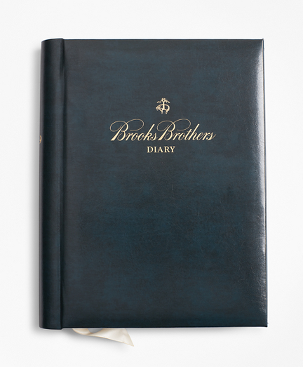 Brooks Brothers 2018 Desk Diary