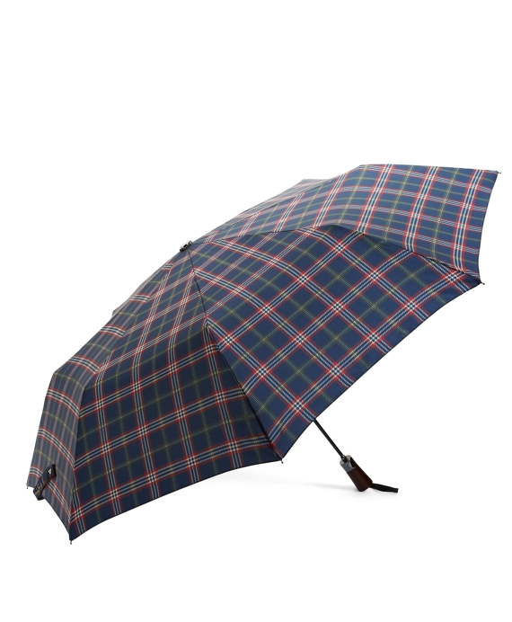 Signature Tartan Stick Mini Umbrella Navy