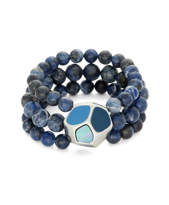Sodalite Stretch Bracelet As Shown
