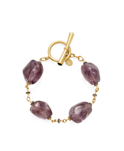 Buy Amethyst Bracelet, see details about this diamond and more