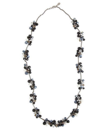Buy Austrian Crystal Cluster Necklace, see details about this diamond and more