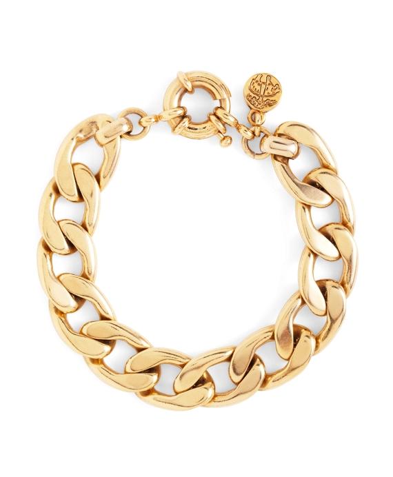 Flat Link Bracelet Gold