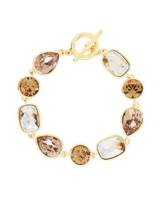 Goldwash Crystal Bracelet As Shown