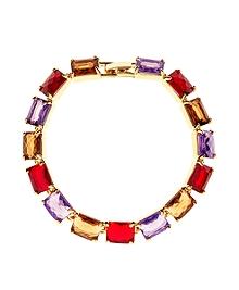 Amethyst & Topaz Bracelet