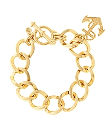 Anchor Pendant Bracelet