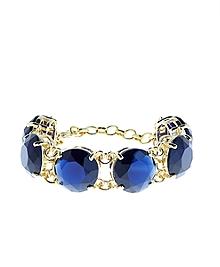Medium Glass Bead Bracelet