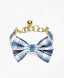 Kiel James Patrick Seersucker Plaid Bow Tie Bracelet