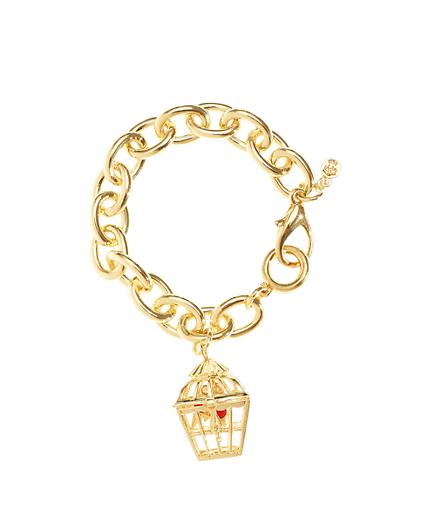 Birdcage Charm Bracelet