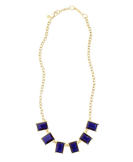 Glass Bib Necklace