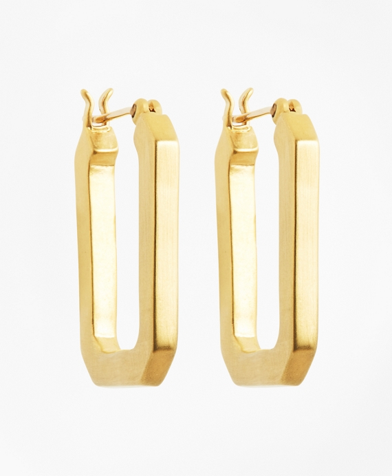 Large Iconic Link Earrings