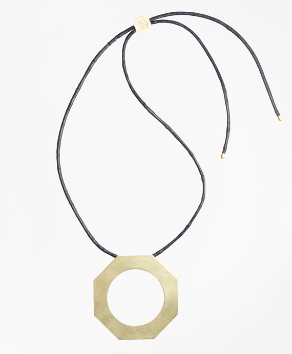 Iconic Link Pendant Necklace Gold
