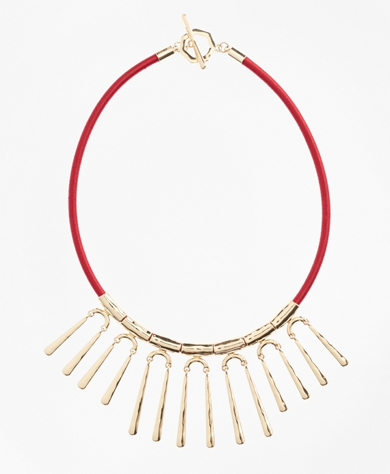Hammered Gold Necklace Gold