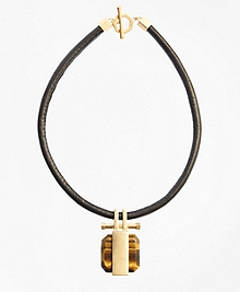 Tigereye Pendant Necklace