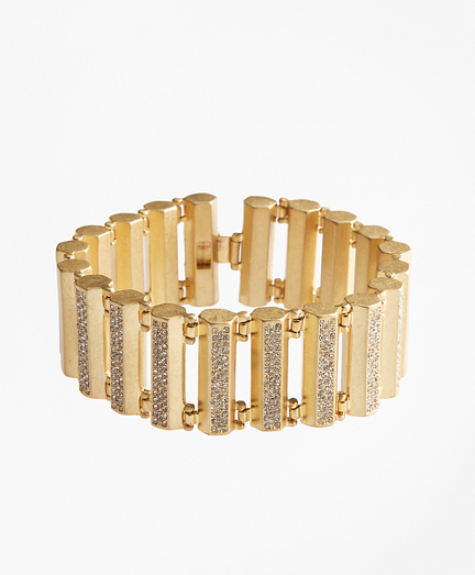 Pave Detail Bar Bracelet