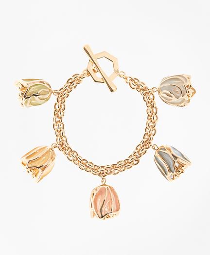 Rosebud Charm Bracelet