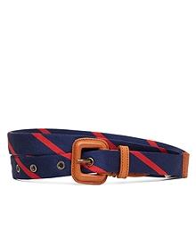 Silk Tie Belt