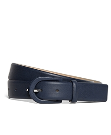 Calfskin Covered Belt
