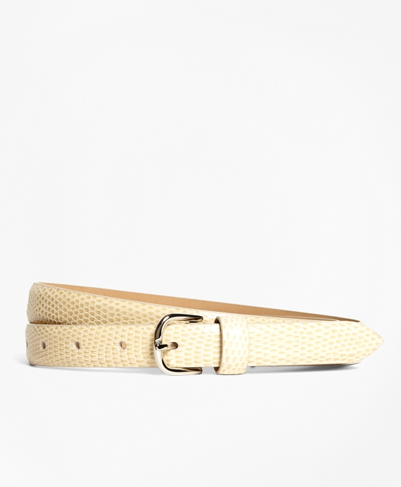 Lizard Wide Belt