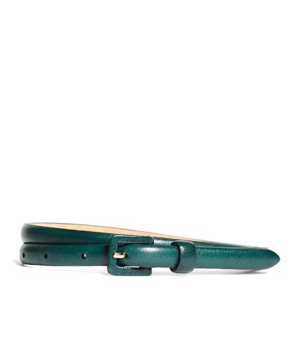 Calfskin Skinny Belt