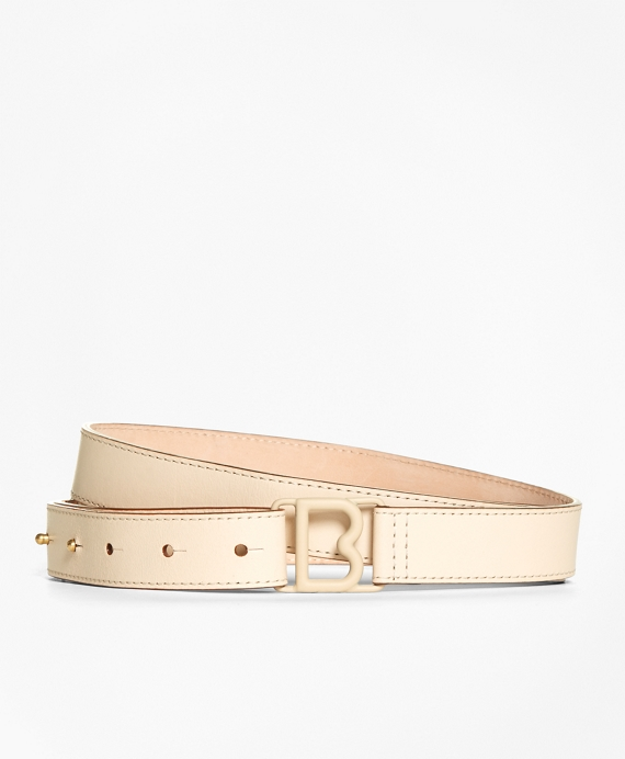 "1"" Leather ""B"" Buckle Trouser Belt"