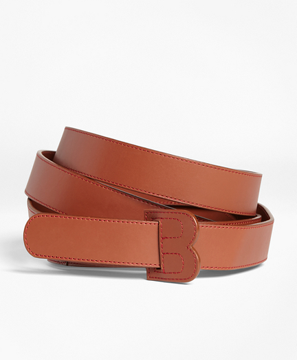 Double-Wrap Leather Belt