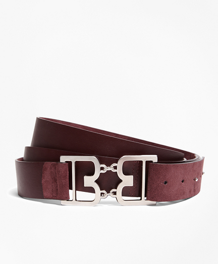 Brooks Brothers Women's Suede Double-Wrap Belt