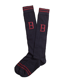 Monogram Over-The-Calf Socks