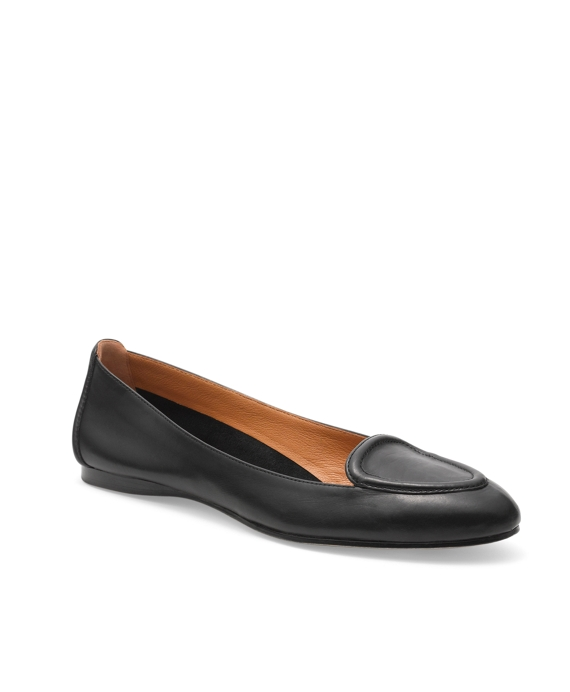 Calfskin Ballet Loafer Black