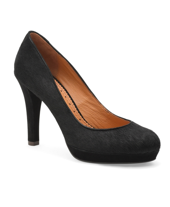 Haircalf Platform Pumps Black